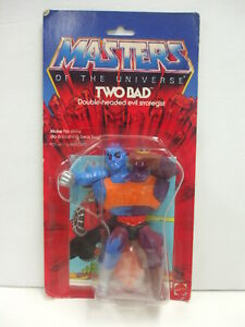 Vintage Carded He-Man Masters of The Universe TWO BAD Action Figure MOC  Sealed
