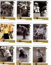 Jack Nicklaus 2001 Upper Deck PGA The Golden Bear Set of 18 NEW Golf Cards