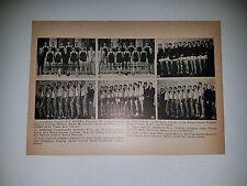 Harbord Collegiate Zion United Hamilton Canada  1936-37 Basketball Team Picture
