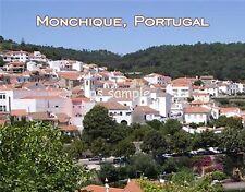 Portugal - MONCHIQUE - travel souvenir FLEXIBLE fridge magnet