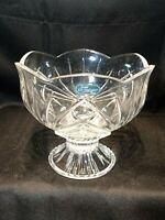 J.G. Durand Crystal Footed Candy Dish without lid