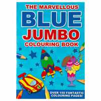 The Marvellous Blue Jumbo Colouring - Children's activity book for kids aged 3+