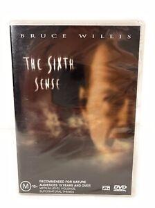 The Sixth Sense - Bruce Willis DVD New Sealed Region 4 Free Postage