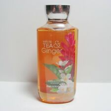 1 X WHITE TEA & GINGER BATH & BODY WORKS SHOWER GEL WASH 10 oz NEW SM07