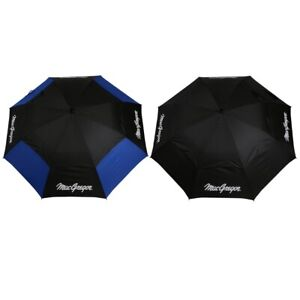 "2 PACK MacGregor Golf MacTec Dual Canopy Golf Umbrellas - Large 68"" /1.7m Arc"