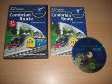 CAMBRIAN ROUTE - Classic Routes Pc Cd Add-On Microsoft Train Simulator Sim MSTS