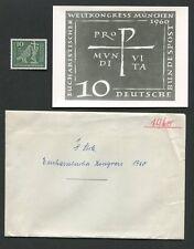 BUND FOTO-ESSAY 330 EUCHARISTISCHER WELTKONGRESS MÜNCHEN 1960 ENTWURF RARE! e589