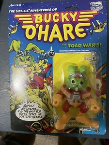 Sealed 1990 Hasbro Space Adventures Of Bucky O'Hare Figure #1 The Toad Wars