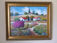"""Mark Braver """"Serene Countryside""""  Original Oil on Canvas."""