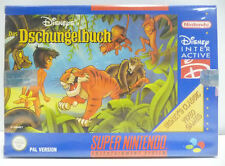 DISNEY DAS DSCHUNGELBUCH - JUNGLE BOOK -  SNES SUPER NINTENDO PAL VERSION BOXED