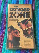 WCW The Danger Zone - 1987 '87 - VHS VIDEO TAPE TURNER - WWE WWF Rare