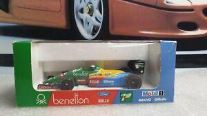 ONYX / F1'89 - BENETTON FORD B188-89 - A NANNINI - 1/43 SCALE MODEL CAR 029
