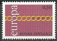 FINLANDIA EUROPA cept 1971 Sin Fijasellos MNH