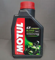 1 x Motul 5100 4-Takt SAE 10W40 motorradöl L'HUILE DE MOTEUR 1 Litre MA2 #