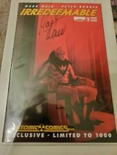 Irredeemable #1 Atomic Comics Variant SIGNED by MARK WAID