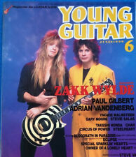 Young Guitar Japan Music Magazine 6/1990 Zakk Wylde Ozzy Osbourne Paul Gilbert