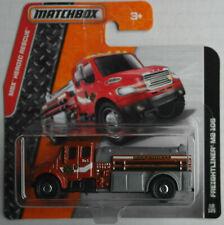 Matchbox Freightliner M2 106 weinrotmetallic/grau FEUERWEHR Neu/OVP Fire Engine