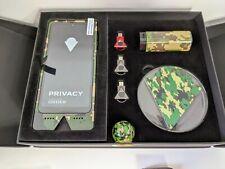 Impulse K1 Army Camo Cell Phone Encrypted Voice Over Blockchain Satellite WiFi