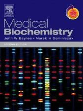 Medical Biochemistry (by Marek H. Dominiczak and John Baynes 2004 Paperback)