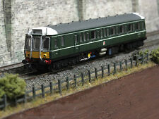 2D-009-000 DAPOL N GAUGE CLASS 121 DCC SOUND LOCOMOTIVE BR GREEN SM YELLOW PANEL
