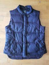 J. CREW Women's Chocolate Brown Down Puffer Ski Vest