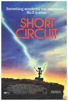 SHORT CIRCUIT Movie POSTER 27x40 B Steve Guttenberg Ally Sheedy Austin Pendleton