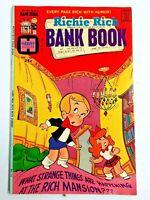 Vintage 1975 RICHIE RICH  BANK BOOKS  #15 comic book Harvey Comics