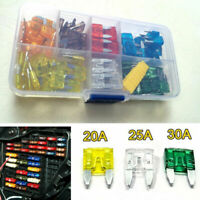 120x Auto Car Standard Mini Blade Fuse Set 7.5A 10A 15A 20A 25A 30A 35A APM ATM