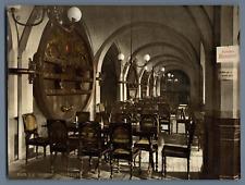 Bremen. Ratskeller. PZ vintage photochromie, Deutschland photochromie, vintage
