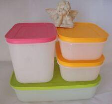 4x Eis-Kristall-Set Gefrierbehälter Eiskristalle Tupperware Starterset