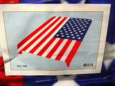 USA UNITED STATES FLAG QUEEN SIZE BLANKET