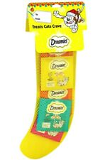 Dreamies Christmas Stocking For Cats Selection Of 5 Bags In Each Stocking