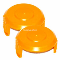 2-Pack WA6531 WORX GT Spool Cap Cover Cordless trimmer Edger  WG151 WG150 WG165