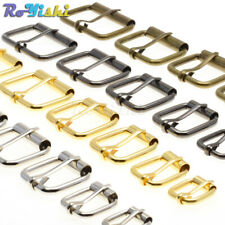 10pcs Metal Wire Formed Half Single Roller Belt Buckles Leather Craft Repair