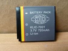 OEM Genuine Original  KLIC-7001 K7001Digital Camera 840mAh 3.7V Battery New