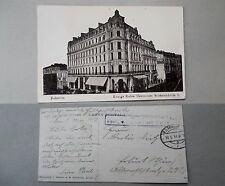 Rumänien Bukarest gel. 1917 Feldpost Königs Kafee Deutsches Soldatenheim