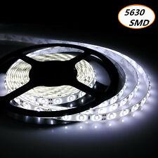 1M-10M LED Streifen Licht 5630 3528 SMD Stripe Band Leiste+ Netzteil Warm Weiß