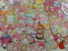 50 Sanrio MY MELODY flake sack stickers cute kawaii collectible HTF special lot