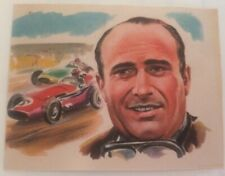 1965 Bancroft Tiddlers #16 Juan Fangio (Kings Sport II)[Back Covered]
