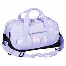 Overnighter Duffel Bag Kids Carry On Travel Luggage Shoulder Handbag Unicorn New