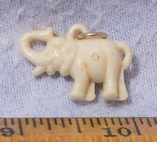 Vintage Plastik Elefant Anhänger Charme Mv