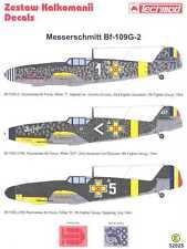 Techmod Decals 1/32 Romanian MESSERSCHMITT Bf-109G