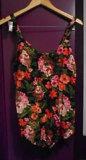 MILLERS Floral Print Lace Hanky Hem Top - Size 12 *NEW WITH TAGS*