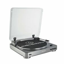Audio-Technica AT-LP60-USB & Analog Fully Automatic Belt-Drive Stereo Turntable