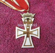 WWII Ww2 German Danzig Cross Second Class Metal Military Badge Medal