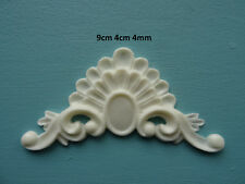 Shabby chic decorative furniture mouldings applique onlay resin  O12A
