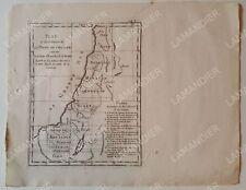 Incisione Antica - Terra di Canaan - Ebreo - Antico Testament