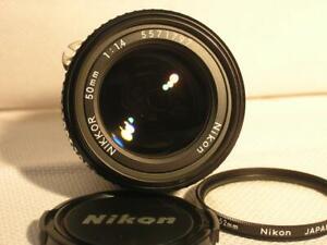Nikon AI-s Nikkor 50mm F1.4 AIS Manual FX Lens