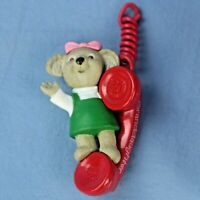 Hallmark Granddaughter Mouse on Phone Keepsake Ornament in Original Box NOS