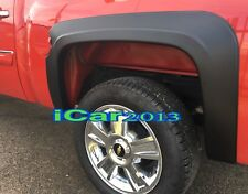 FACTORY STYLE FENDER FLARES FOR 2007-2013 CHEVY SILVERADO 1500 CREW CAB